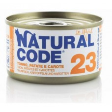 NATURAL CODE GR.85 JELLY TONNO PATATE CAROTE -23-