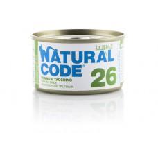 NATURAL CODE GR.85 JELLY TONNO E TACCHINO GR.85 -26-