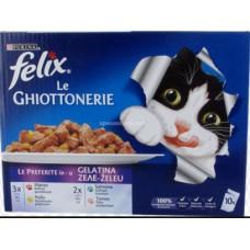 """FELIX BUSTE GHIOTTONERIE GELATINA """"LE PREFERITE"""" 10 BUSTE"""