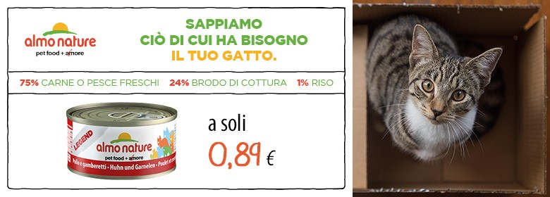 offerta ALMO 70GR A 0,89€.