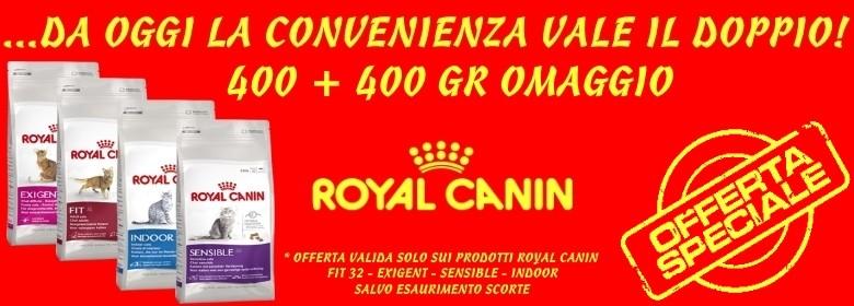 royal canin 400 + 400 gr