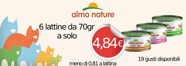 Almo Nature 70gr Megapack x 6 lattine