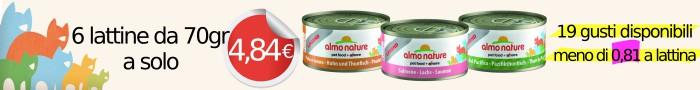 Almo nature megapack 4,48€