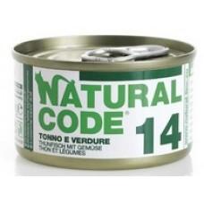 NATURAL CODE GR.85 TONNO VERDURE--14--