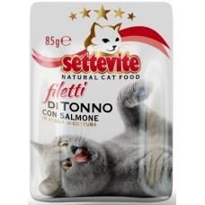 SETTEVITE BUSTA GR. 85 FILETTI DI TONNO CON SALMONE
