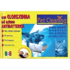 PET CLEANING GUANTO LAVAGGIO ALLA CLOREXIDINA