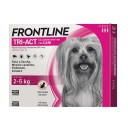 FRONTLINE TRI-ACT CANI 2-5 KG 6 PIPETTE