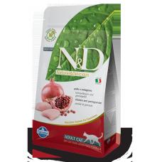 FARMINA N&D GRAIN FREE ADULT POLLO E MELOGRANO 5 KG