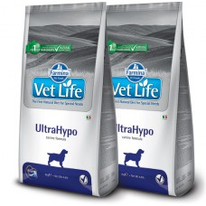 VETLIFE DOG ULTRAHYPO KG.12 X2