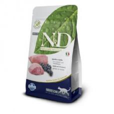 FARMINA N&D GRAIN FREE ADULT AGNELLO E MIRTILLO 5KG