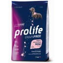 PROLIFE GRAIN FREE PORK & POTATO MINI ADULT 7 KG