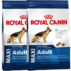 ROYAL CANIN MAXI ADULT 15KG  x2pz