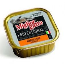 MIGLIORGATTO VASCHETTA GR.100 AGNELLO RISO