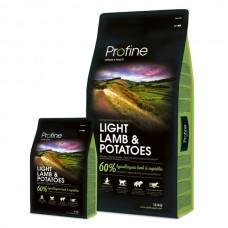 PROFINE DOG 15KG LIGHT AGNELLO PATATE
